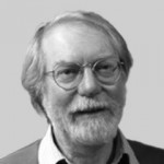 Profile picture in black and white of Paul Collier