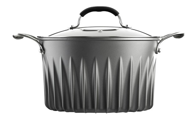 Flare pan, silver