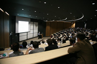 Lecture hall in the Mathematics department