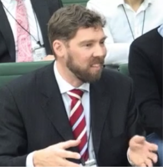 Dr Philipp Grunewald appears before Energy and Climate Change Committee