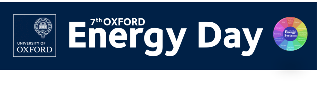 Oxford energy day logo
