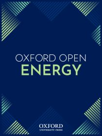 Oxford Open Energy Journal accepting submissions now